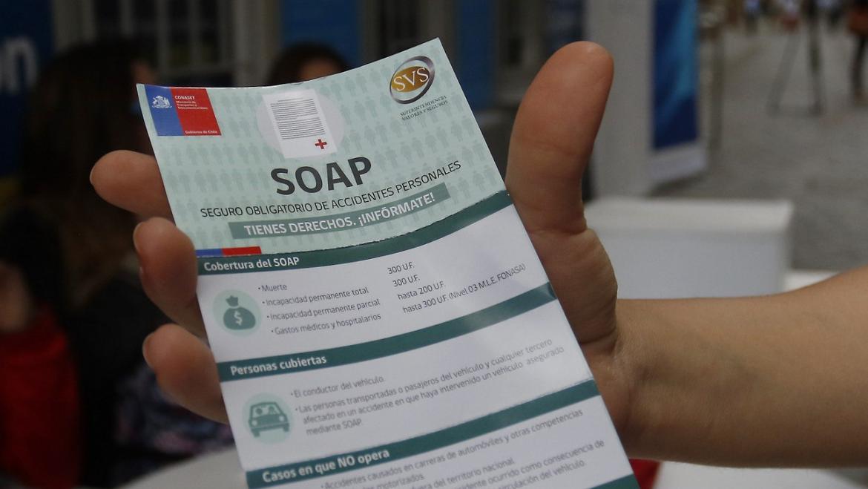 ¿Qué cubre el SOAP, el Seguro Obligatorio de Accidentes Personales?